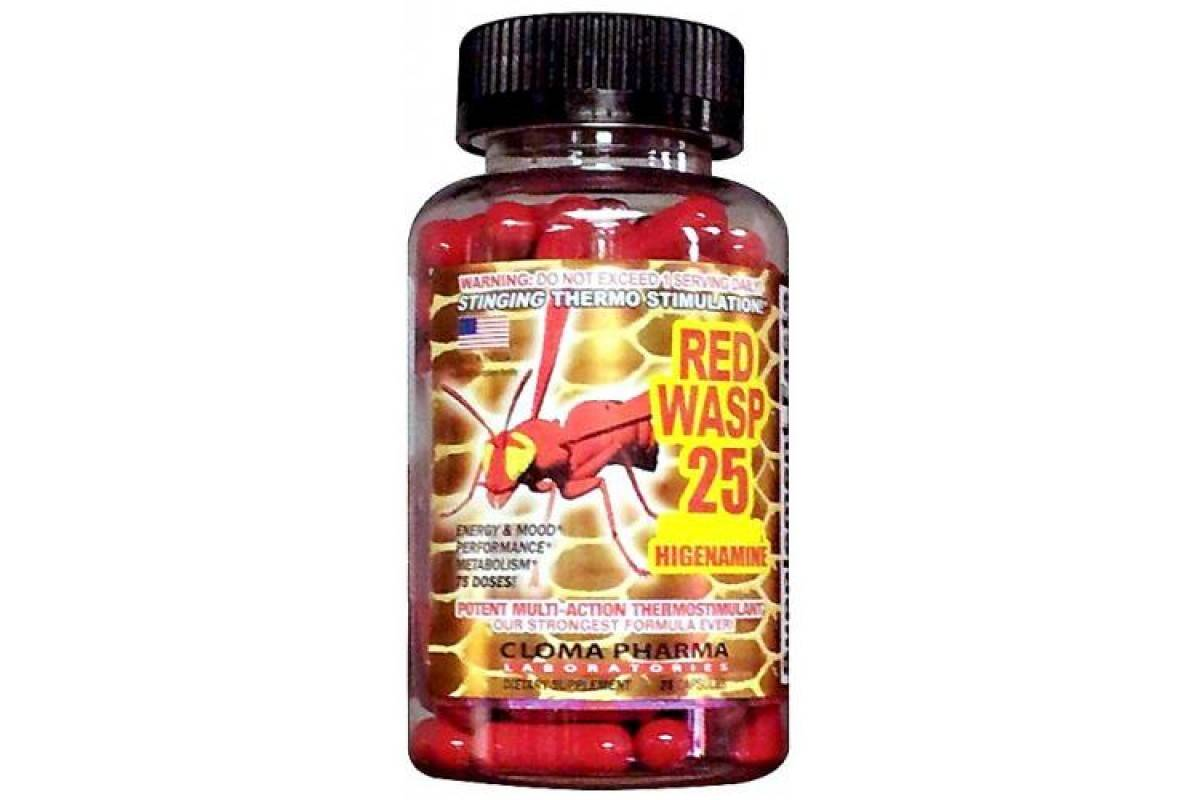 Red wasp 25 от cloma pharma инструкция по применению