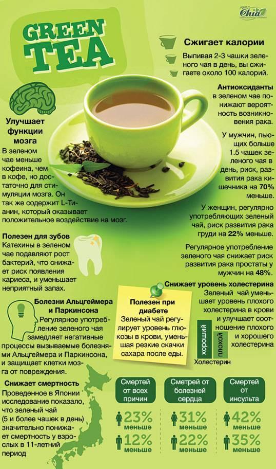 Зеленый чай для похудения: рецепт как пить, какой выбрать