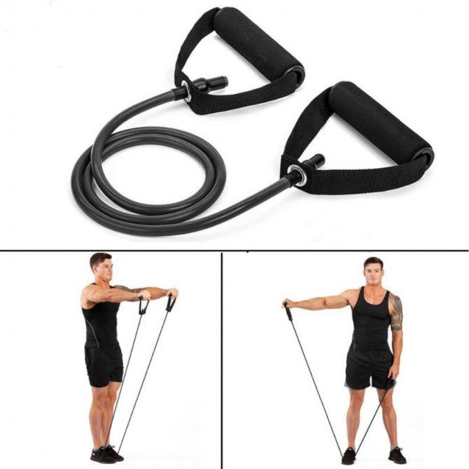 Комплексы упражнений с эспандером в домашних условиях