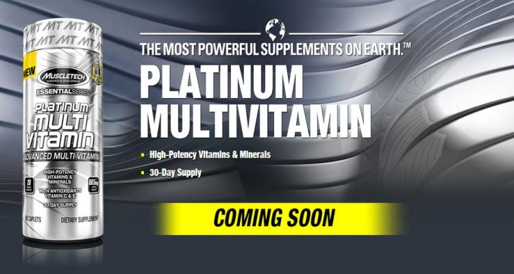 Muscletech - platinum multivitamin (90капс)