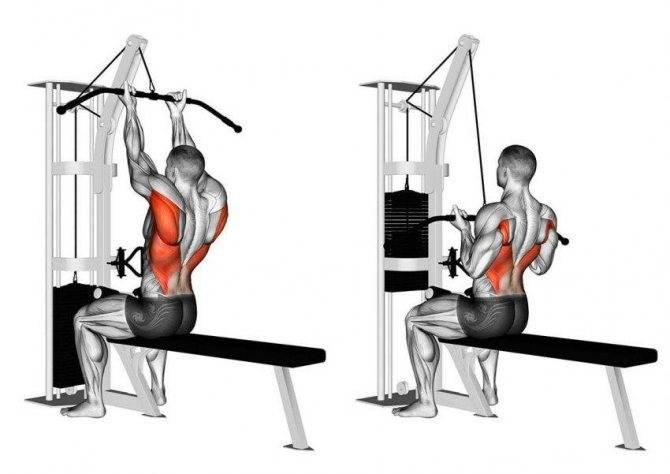 Жим в тренажере хаммер на грудные мышцы и плечи