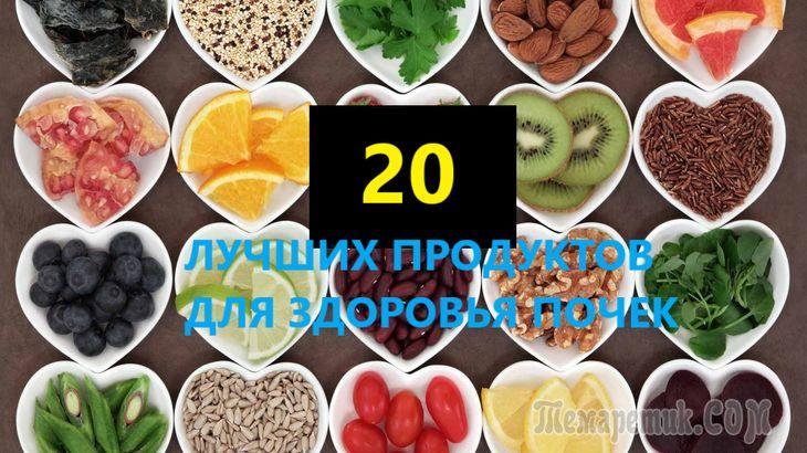 Что полезно для почек: 20 продуктов, которые нужно пить и есть для поддержания здоровья почек человека