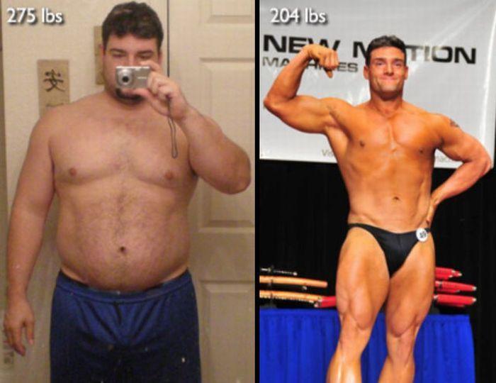 Кому легче набрать мышечную массу толстому или худому