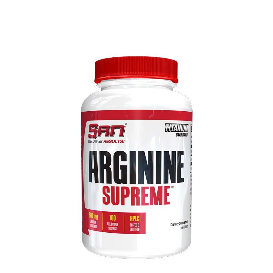 Arginine supreme 100 табл (san) купить в москве по низкой цене – магазин спортивного питания pitprofi