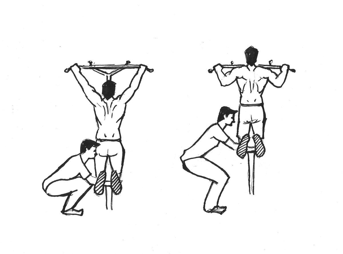 Как научиться подтягиваться на одной руке? программа тренировок.