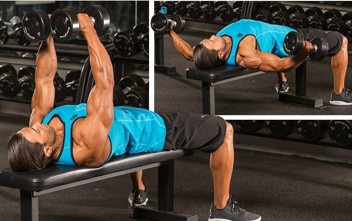 Как накачать плечи и грудные мышцы: эффективная программа дома