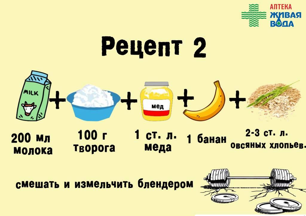 Протеиновые коктейли в домашних условиях: рецепты и способы приготовления