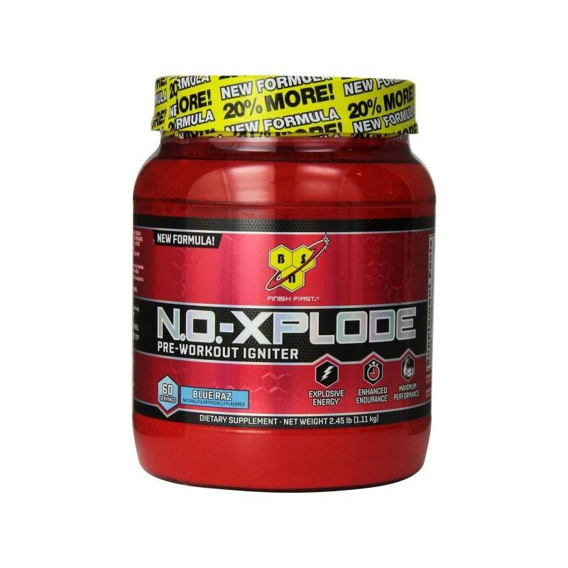 N.o.-xplode new formula от bsn : отзывы, состав и как принимать предтреник