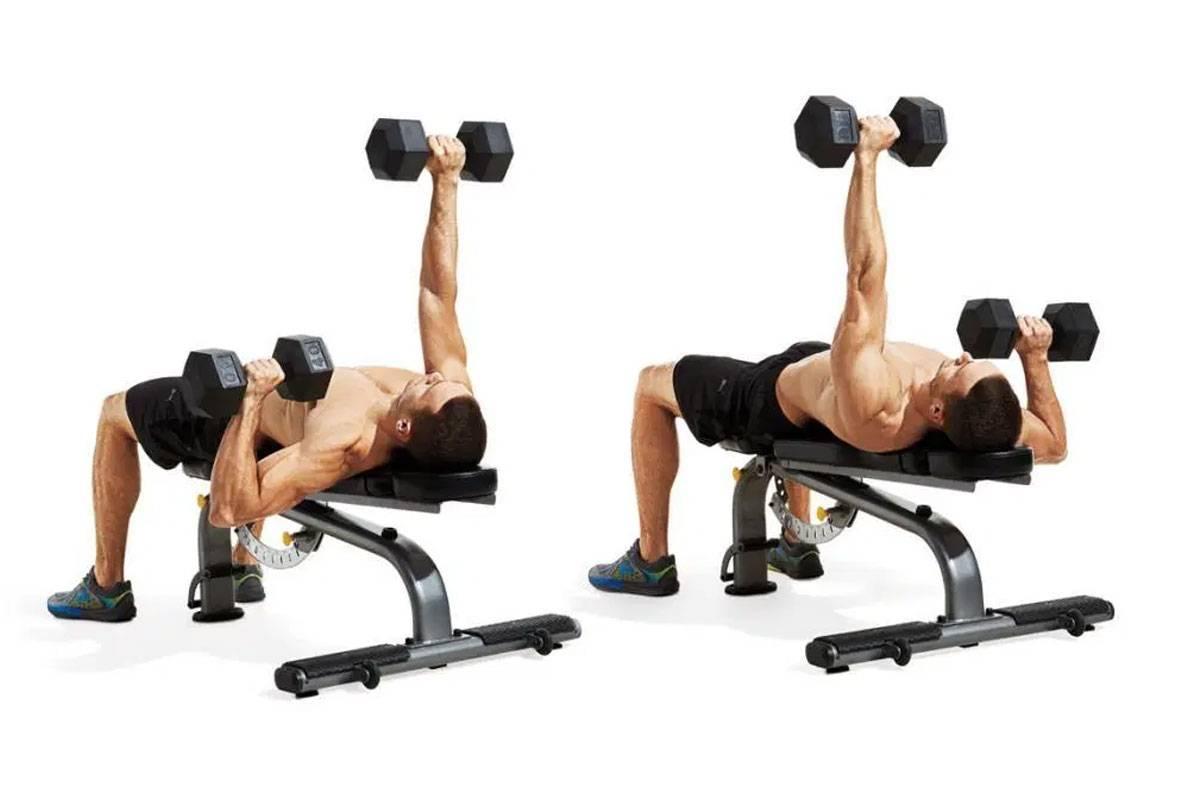 Упражнения с гантелями в домашних условиях, гантельная гимнастика