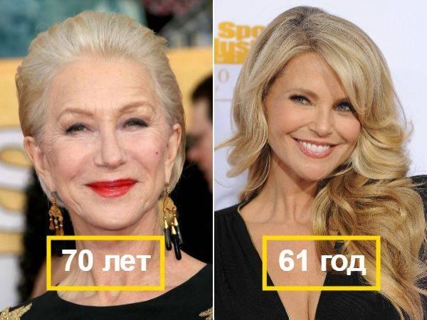 Секретные способы, как выглядеть моложе своих лет для женщин и мужчин