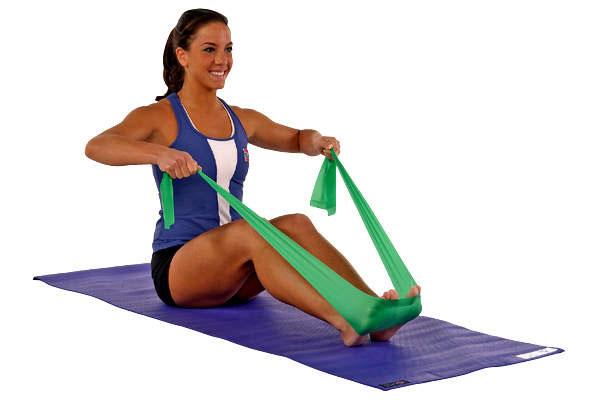 Упражнения с резиновой лентой для женщин и мужчин (для рук, ног, ягодиц и бедер, спины и пресса): комплекс тренировок, видео