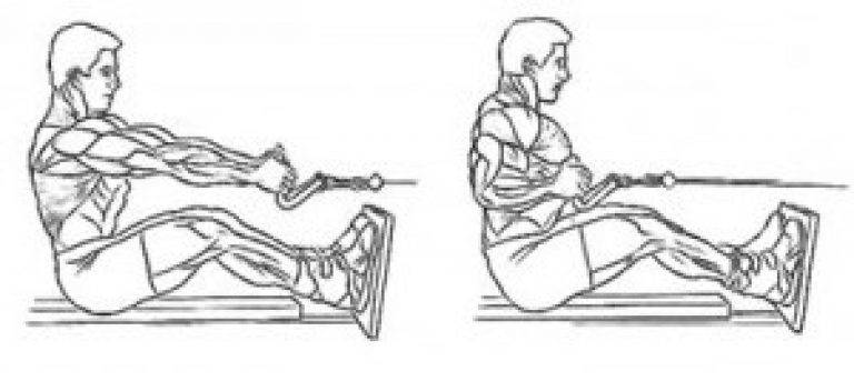 Тяга верхнего блока. тренировка спины на тренажёрах