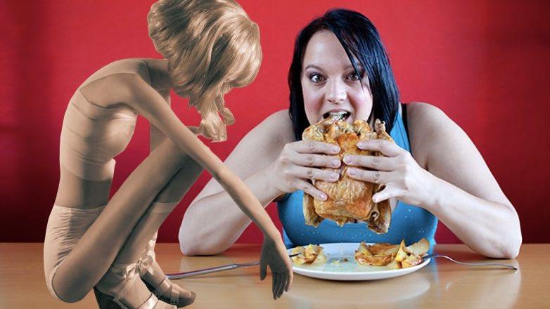 Компульсивное переедание — как бороться самостоятельно