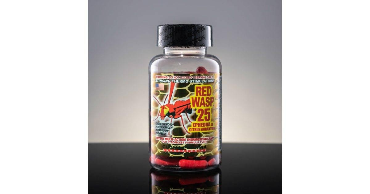Red wasp 25 - как принимать жиросжигатель, отзывы