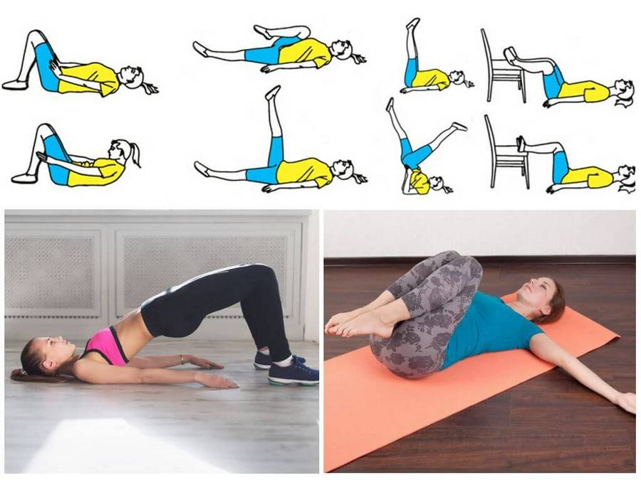 Упражнения для похудения живота и боков бубновского