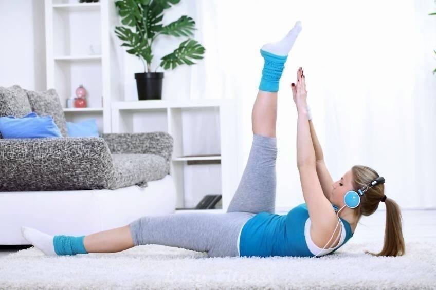 Зарядка для похудения вдомашних условиях— лучшие упражнения