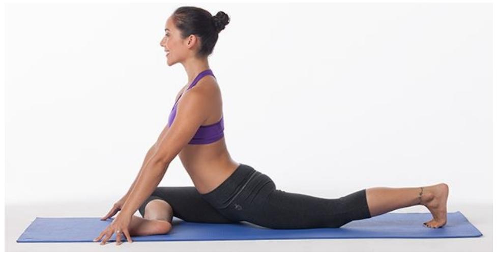 6 упражнений для раскрытия бедер, которые стоит попробовать вместо позы голубя   мир йоги