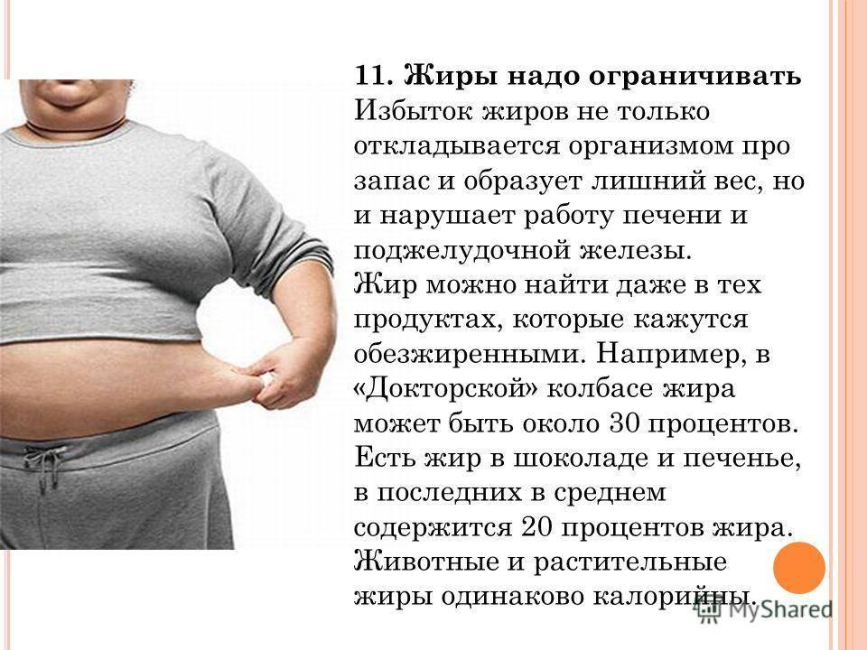 Жиры против углеводов что хуже для фигуры и для веса человека