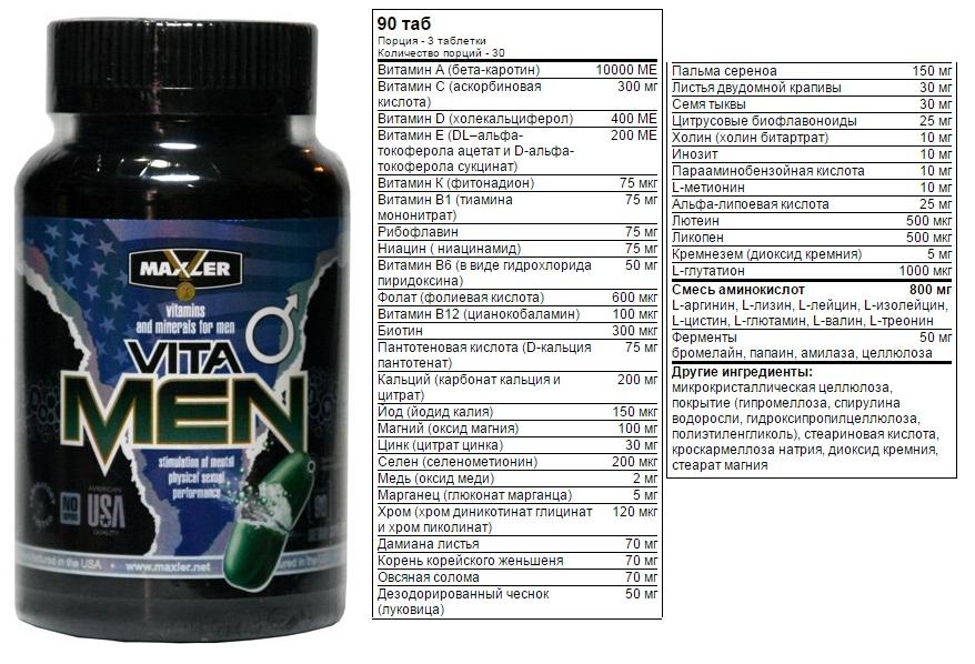 Купить vitamen 90 табл. maxler производства maxler