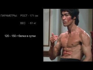 Брюс ли. физическая подготовка