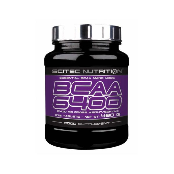 Bcaa 6400 125 табл (scitec nutrition) купить в москве по низкой цене – магазин спортивного питания pitprofi