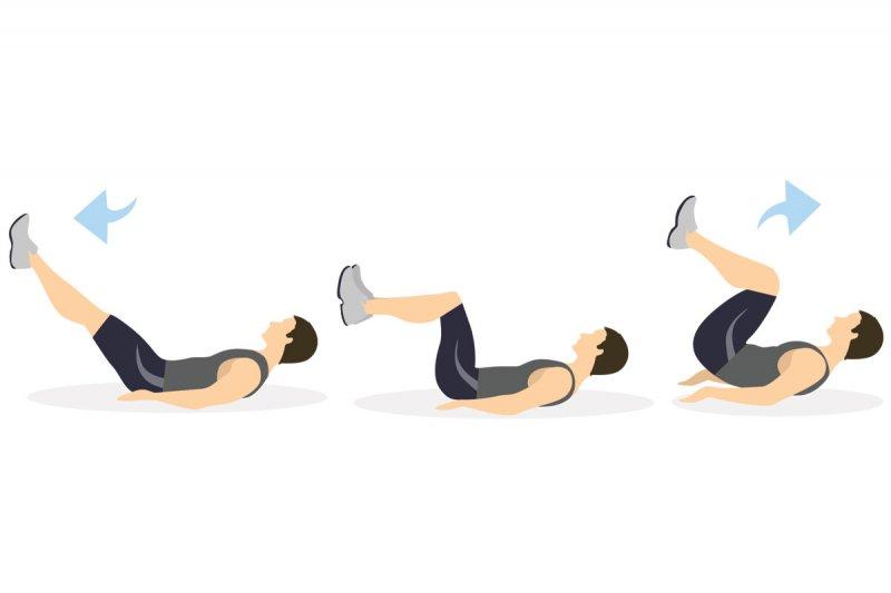Косые скручивания на пресс: техника выполнения на полу и на скамье