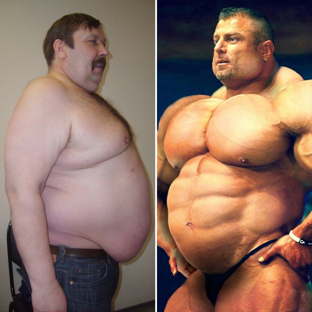 Как жир превратить в мышцы - в спортзале и дома