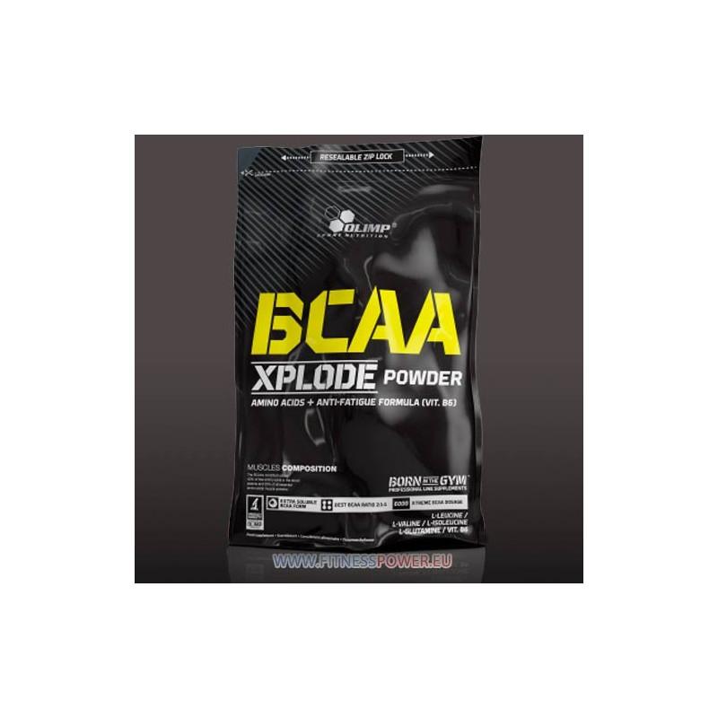 Как утолить голод мышц или обзор bcaa от xplode