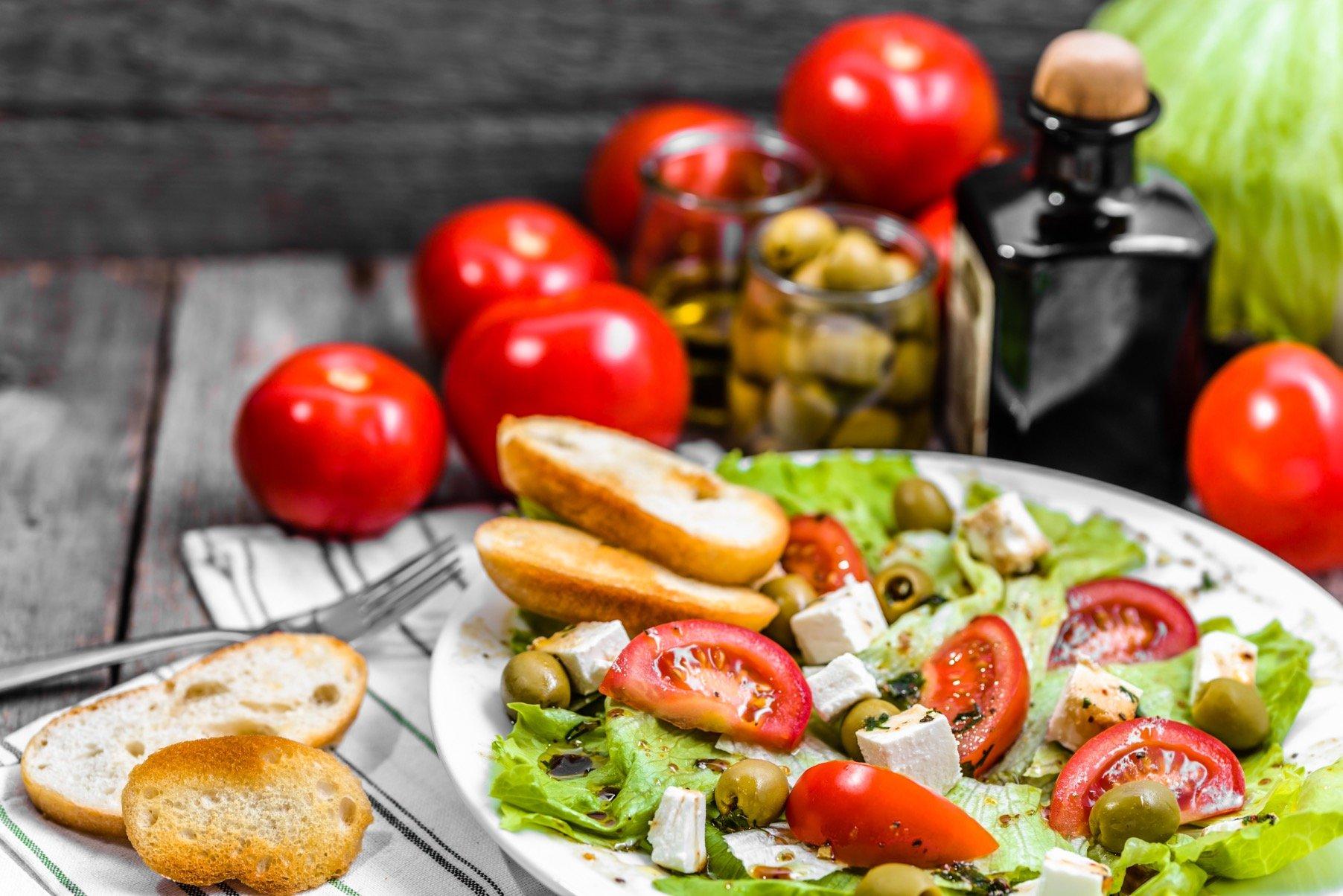 Средиземноморская диета для похудения: меню, польза продуктов диеты и правила.
