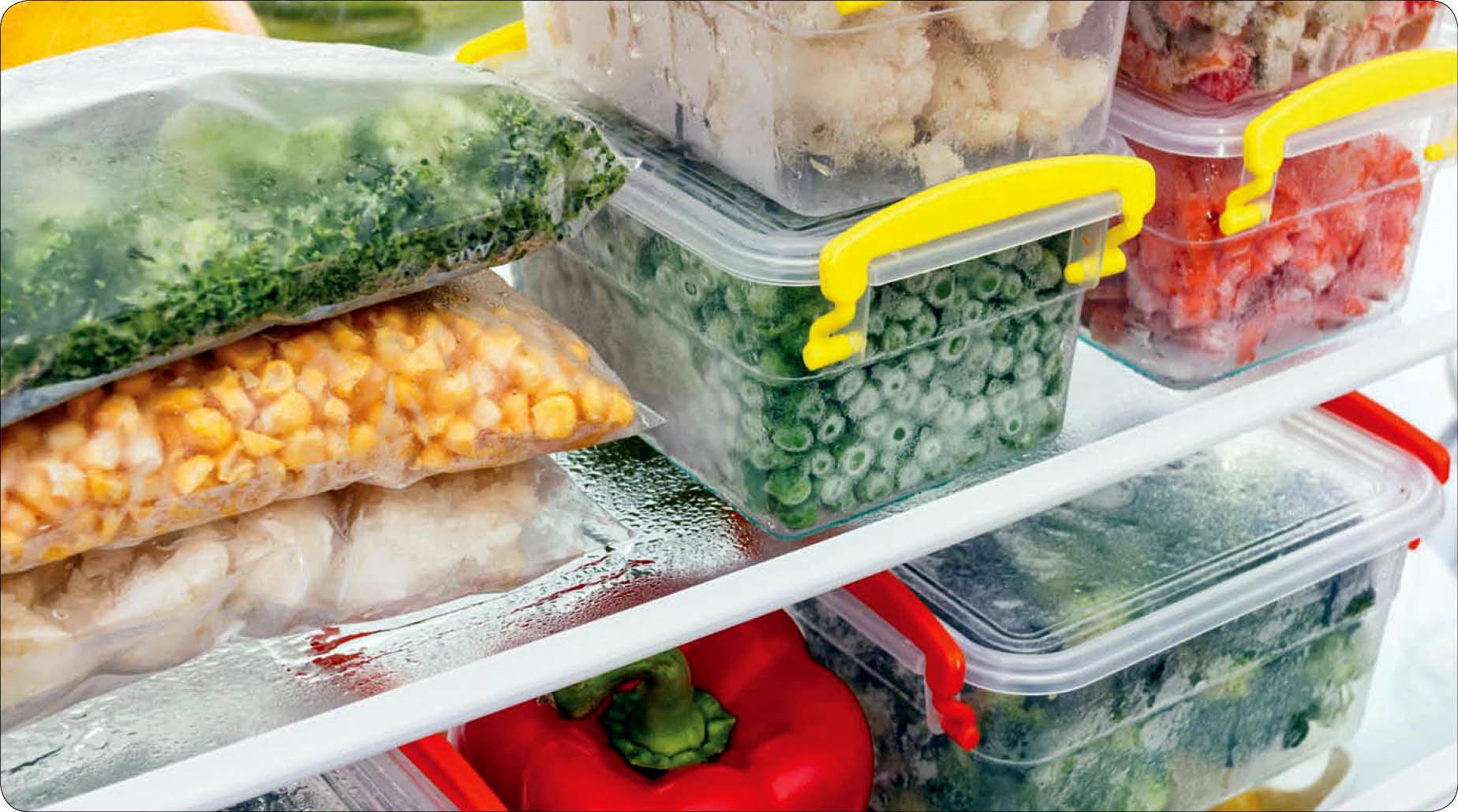 Заморозка и хранение продуктов в морозильной камере