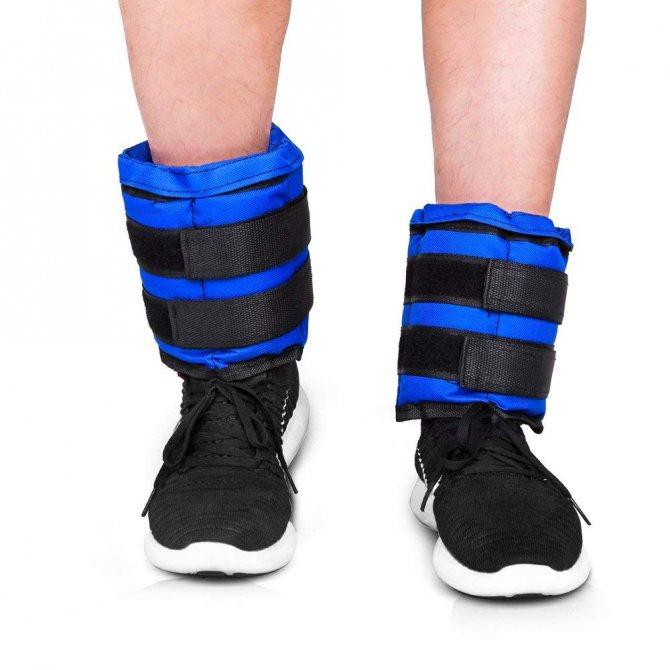 Делаем утяжелители для ног самостоятельно. как в домашних условиях сделать утяжелители