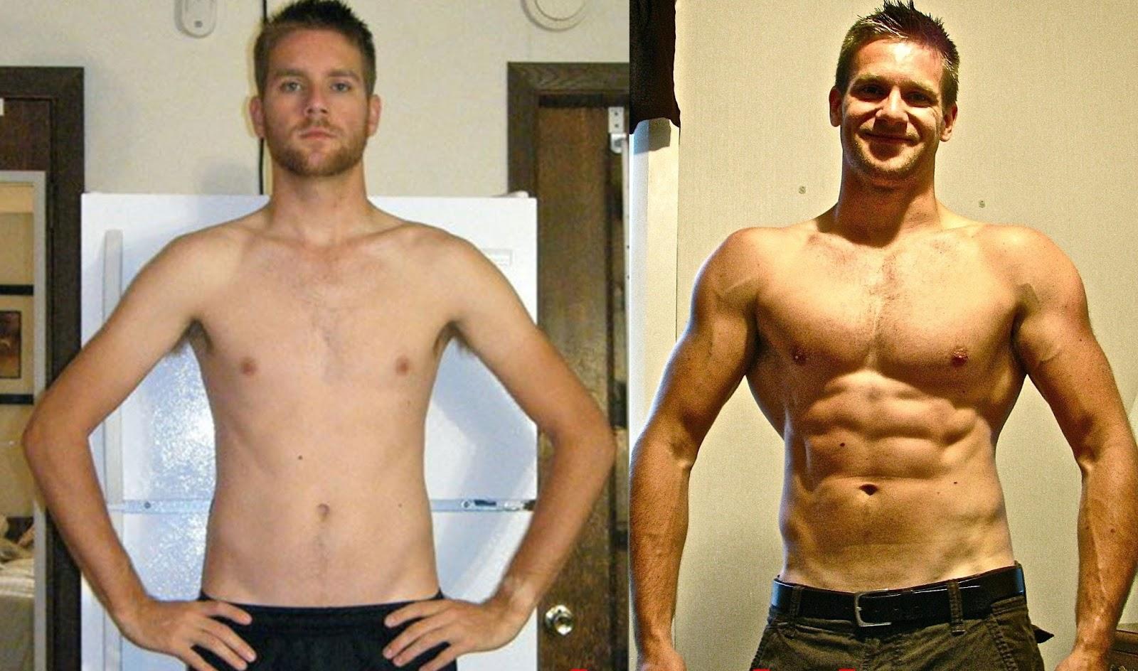 Гейнер для набора веса худым * лучший gainer для набора массы без тренировок
