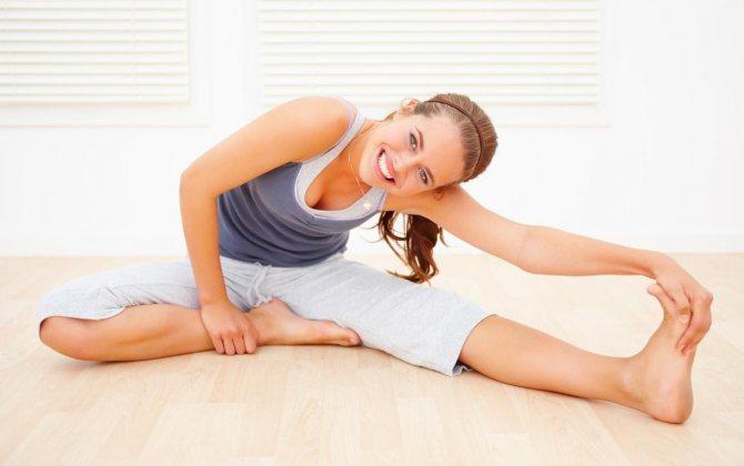 Гимнастика для суставов ног