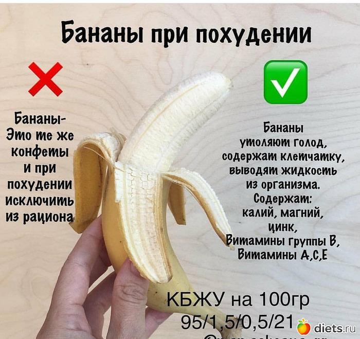 Банан,сколько калорий в банане,банан перед тренировкой,фрукты можно ли есть при похудении