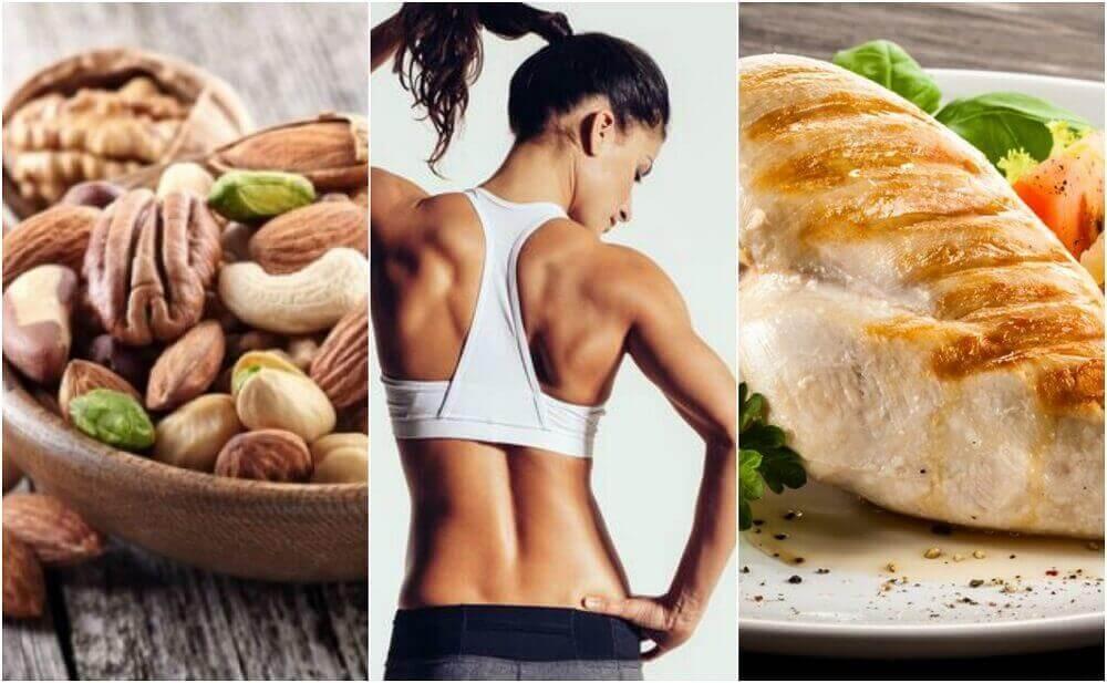 Питание для рельефа мышц | бомба тело