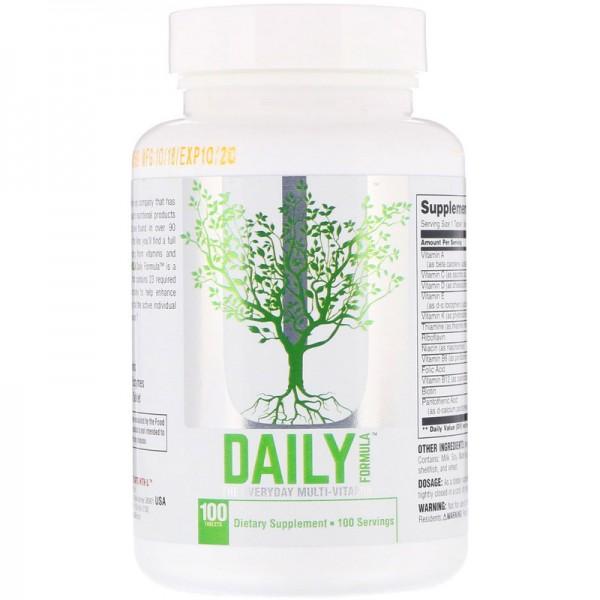 Daily formula от universal nutrition: как принимать, состав