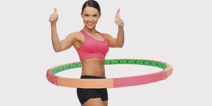 Помогает ли обруч убрать живот и бока, можно ли похудеть, если крутить хулахуп
