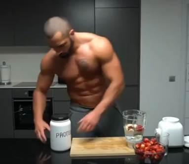 Протеин до или после тренировки