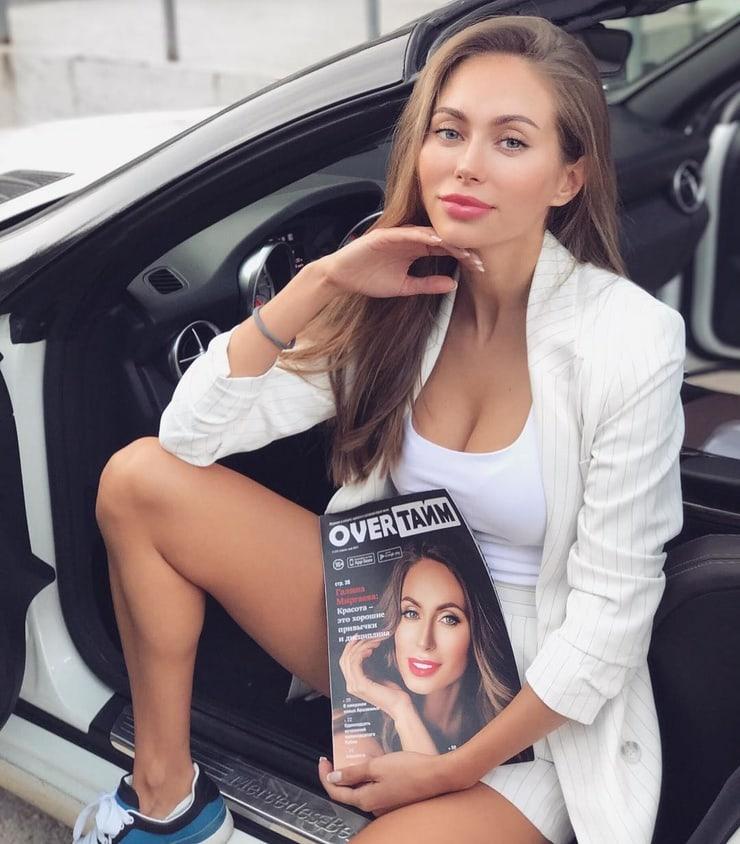 Фитоняшка Галина Миргаева: фото, биография инстаграм красотки