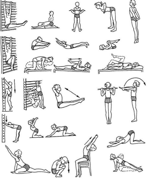 Какие упражнения нельзя делать при сколиозе: запрещенные нагрузки