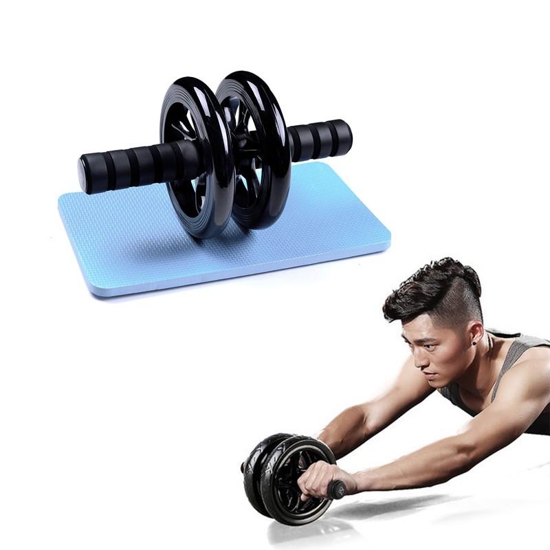 Упражнения с роликом для пресса - бьём колесиком по жировым отложениям