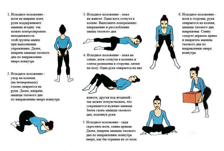 Эти упражнения приведут в тонус даже самые слабые мышцы тазового дна