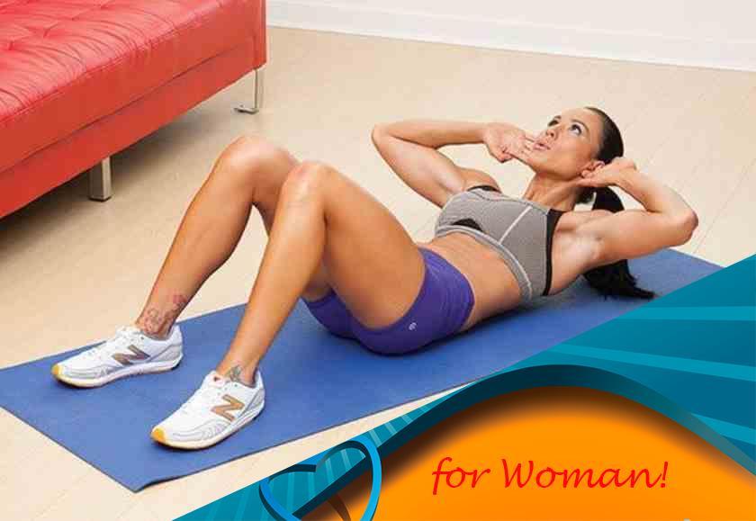 Скручивания на пресс: как правильно делать упражнение лежа на полу