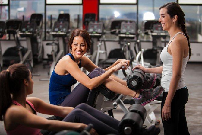 Упражнения для похудения в тренажерном зале для женщин и мужчин - программы тренировок с видео