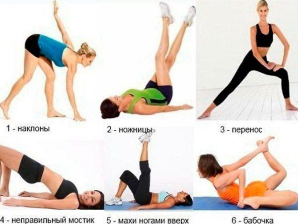 Тренировка для похудения ног и бедер: упражнения в зале и дома