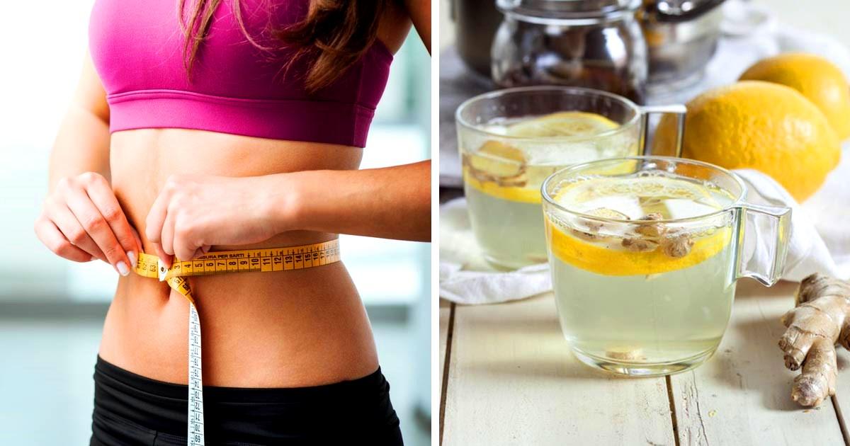 Имбирь для похудения (рецепт)