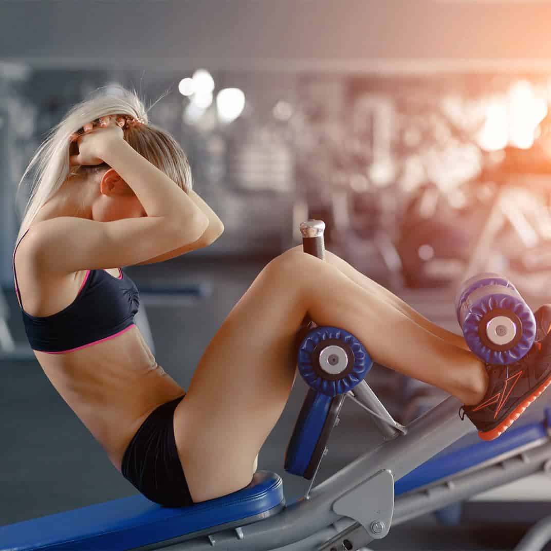 Круговая тренировка в тренажерном зале для девушек на похудение - сайт о лечебной физической культуре
