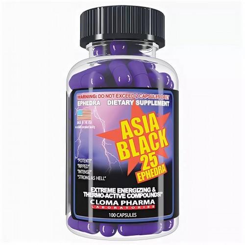 Asia black 25 ephedra противопоказания