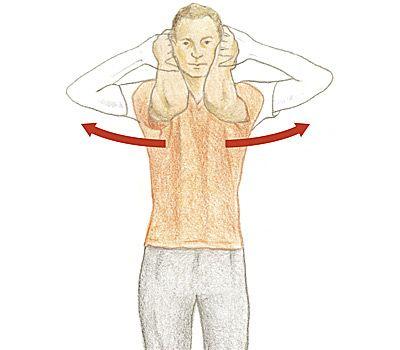 Стретчинг: упражнения с полотенцем для растяжки мышц рук, плечевого пояса и груди
