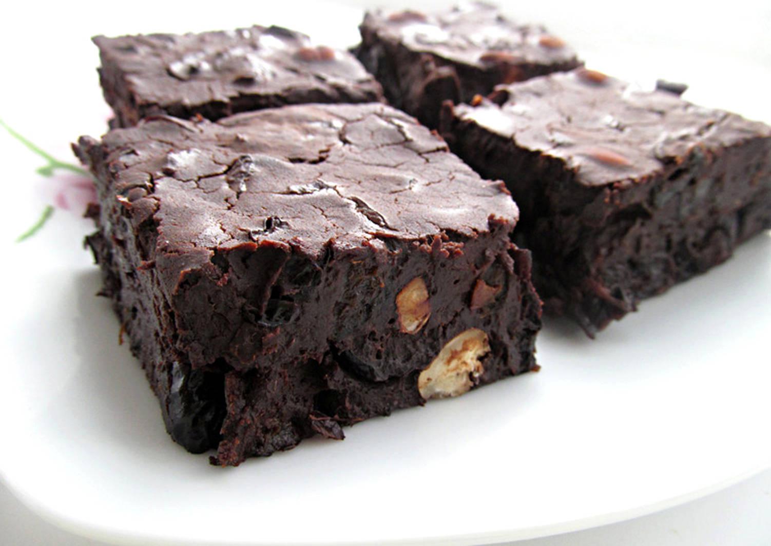 3 пошаговых рецепта шоколадного брауни